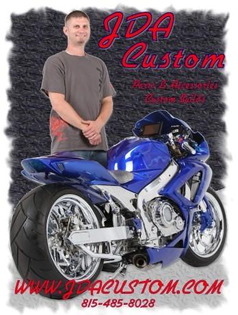 Jda Custom Motorcycle Sportbike Parts Accessories Chrome Builds